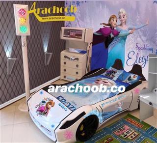 تختخوابهای ماشینی لاکچری مناسب با ذوق کودکانمان