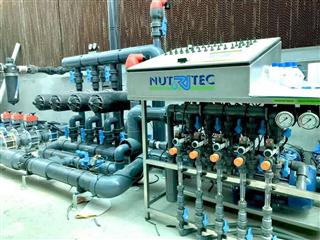 دستگاه آبیاری هایدروپونیک از شرکت RITEC اسپانیا