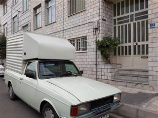 وانت بار تلفنی، شرق تهران (وانت مسقف نیست)