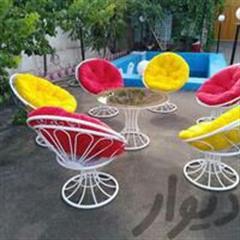 تولید و پخش عمده انواع میز و صندلی ویلایی...