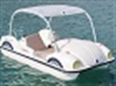 قایق فولکسی، پدالی، تفریحی، فایبرگلاس