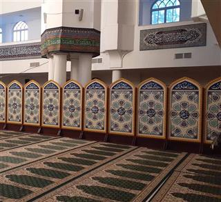 پارتیشن مسجدی پارتیشن متحرک مسجدی