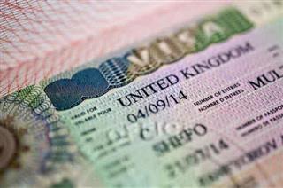 اخذ ویزای انگلستان