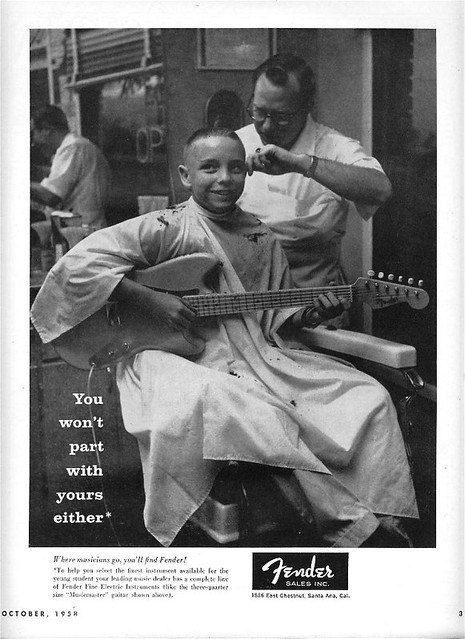 صاحب Fender می تواند ساز خود را به آرایشگاه بیاورد